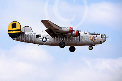 WB - Consolidated B-24 Liberator 00012 Consolidated B-24 Liberator Golden Girl by Peter B Lewis