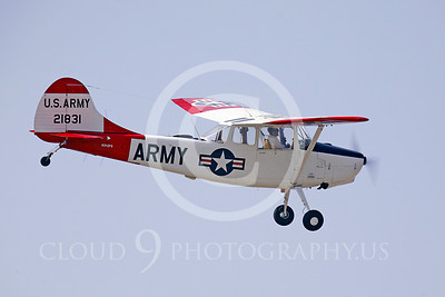 WB - Cessna 0-1 Bird Dog 00028 Cessna 0-1Bird Dog US Army by Peter J Mancus