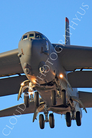 B-52 00176 Boeing B-52H Stratofortress USAF Nellis AFB by Peter J Mancus