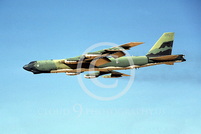 B-52 00030 Boeing B-52G Stratofortress Aug 1986 by Peter J Mancus