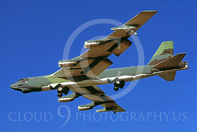 B-52 00032 Boeing B-52G Stratofortress USAF July 1986 by Peter J Mancus