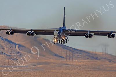 B-52 00150 Boeing B-52H Stratofortress USAF Nellis AFB by Peter J Mancus