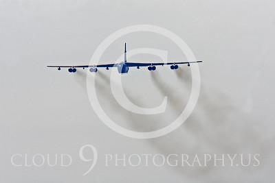 B-52 00046 Boeing B-52H Stratofortress by Peter J Mancus