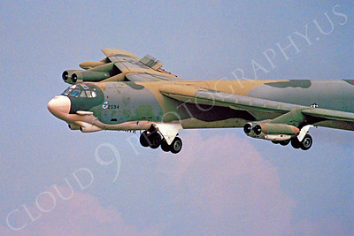 CUNMJ 00240 Boeing B-52G Stratofortress USAF by Peter J Mancus