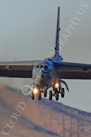 B-52 00092 Boeing B-52H Stratofortress USAF Nellis AFB by Peter J Mancus