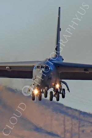 B-52 00092 Boeing B-52H Stratofortress USAF Nellis AFB by Peter J Mancus