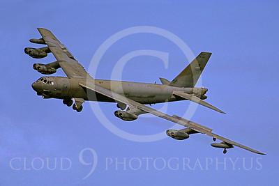 B-52 00090 Boeing B-52 Stratofortress USAF by Peter J Mancus