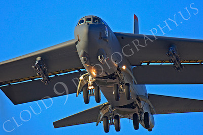 B-52 00174 Boeing B-52H Stratofortress USAF Nellis AFB by Peter J Mancus