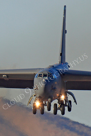 B-52 00302 Boeing B-52H Stratofortress USAF Nellis AFB by Peter J Mancus
