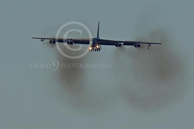 B-52 00148 Boeing B-52H Stratofortress USAF Nellis AFB by Peter J Mancus