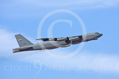 B-52 00064 Boeing B-52H Stratofortress by Peter J Mancus