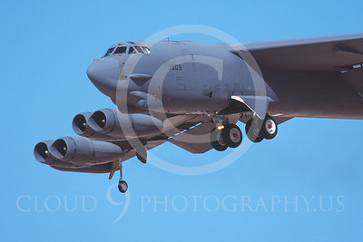 B-52 00080 Boeing B-52 Stratofortress by Peter J Mancus