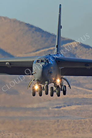 B-52 00170 Boeing B-52H Stratofortress USAF Nellis AFB by Peter J Mancus