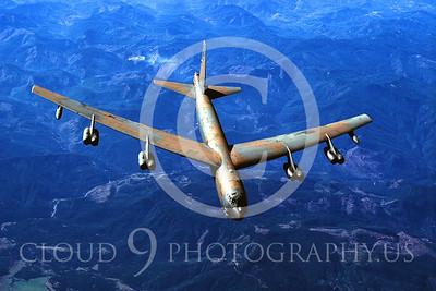 B-52 00022 Boeing B-52 Stratofortress by Peter J Mancus
