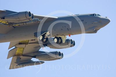 B-52 00062 Boeing B-52H Stratofortress by Peter J Mancus