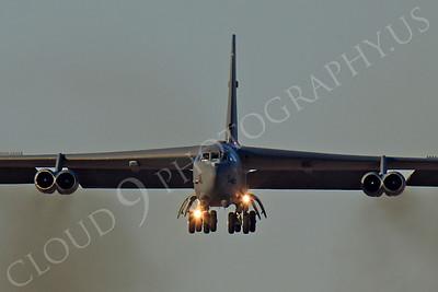 B-52 00156 Boeing B-52H Stratofortress USAF by Peter J Mancus