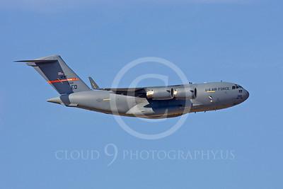 C-17USAF 00160 Boeing C-17 Globemaster III USAF 33121 Edwards ED by Peter J Mancus