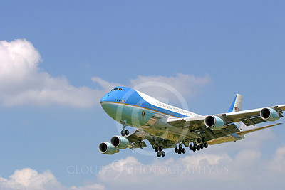 VC-25A 00030 USAF Boeing VC-25A VIP Air Force One military airplane picture, by Tim Perkins