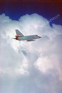 F-106USAF 00086 Convair F-106A Delta Dart USAF 72496 84th FIS December 1980 by Peter J Mancus