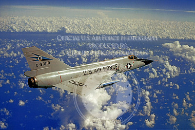 F-106USAF 00122 Convair F-106A Delta Dart USAF 90110 318th FIS Official USAF photograph produced by Cloud 9 Photography