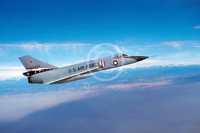 F-106USAF 00004 Convair F-106A Delta Dart USAF 60465 84th FIS December 1980 by Peter J Mancus