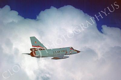 F-106USAF 00132 Convair F-106A Delta Dart USAF 72496 84th FIS December 1980 by Peter J Mancus