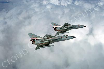 F-106USAF 00072 Convair F-106A Delta Dart USAF 72496 84th FIS 1980 by Peter J Mancus