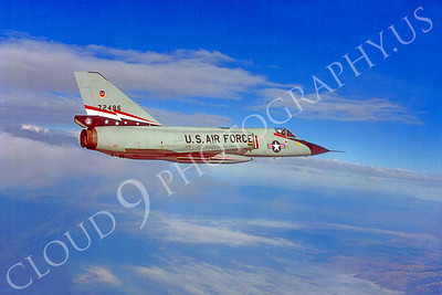 F-106USAF 00108 Convair F-106A Delta Dart USAF 72496 84th FIS 1980 by Peter J Mancus
