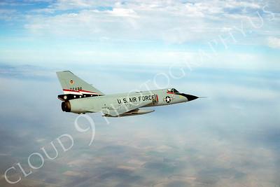 F-106USAF 00104 Convair F-106A Delta Dart USAF 72496 84th FIS 1980 by Peter J Mancus
