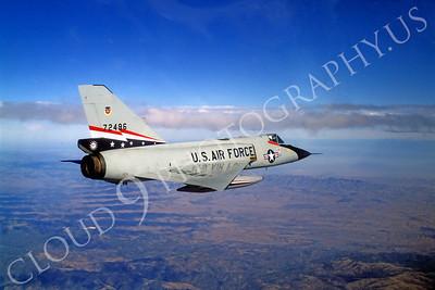 F-106USAF 00036 Convair F-106A Delta Dart USAF 72496 84th FIS 1980 by Peter J Mancus