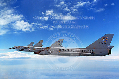 F-106USAF 00010 Convair F-106A Delta Dart USAF 72498 95th FIS Official USAF photograph produced by Cloud 9 Photography