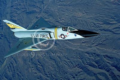 F-106USAF 00006 Convair F-106A Delta Dart USAF 90005 5th FIS Spitten Kittens by Peter J Mancus