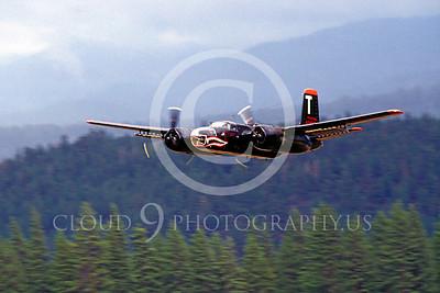 WB - Douglas A-26 Invader 00018 Douglas A-26 Invader SHARKMOUTH by Peter J Mancus