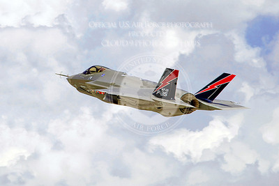 AF 1, one of two F-35A Lightning II joint strike fighters flying nonstop to Edwards Air Force Base, Calif., departed its final-assembly site in Fort Worth, Texas, May 17, 2010.  As part of the F-35 flight test operations expansion, the jet will undergo ground- and flight-test activities for propulsion, aerial refueling, logistical support, weapons integration and flight-envelope expansion. The arrival is the first in a series that will increase the Edwards AFB F-35 test fleet to at least eight aircraft. (Courtesy photo/Angel DelCueto)