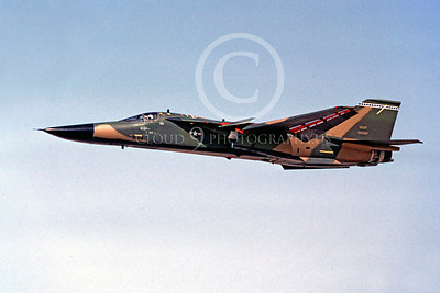 F-111USAF 00036 General Dynamics F-111 USAF April 1983 by Michael Grove, Sr
