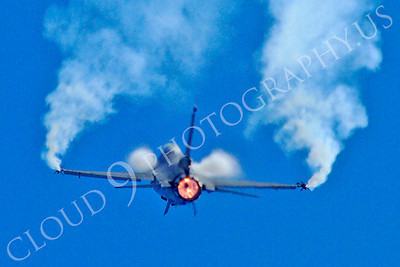 AB - F-16USAF 00112 Lockheed Martin F-16 Fighting Falcon USAF jet fighter afterburner airplane picture by Stephen W D Wolf