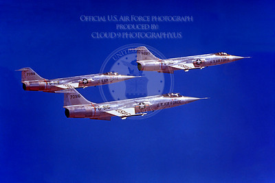 F-104USAF 00038 Lockheed F-104 Starfighter USAF 70916 Official USAF photograph produced by Cloud 9 Photography