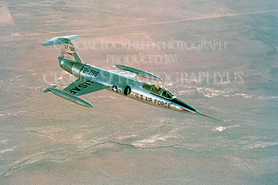 F-104USAF 00012 Lockheed F-104 Starfighter USAF 37786 Official Lockheed Aircraft photograph produced by Cloud 9 Photography