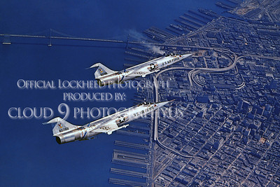 F-104USAF 00030 Lockheed F-104 Starfighter USAF Official Lockheed Aircraft photograph produced by Cloud 9 Photography