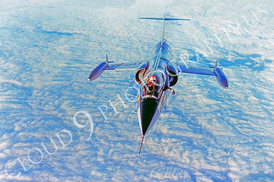 F-104USAF 00010 Lockheed F-104 Starfighter USAF Official USAF photograph produced by Cloud 9 Photography