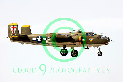 WB - North American B-25 Mitchell 00126 North American B-25 Mitchell by Peter J Mancus