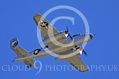 WB - North American B-25 Mitchell 00104 North American B-25 Mitchell In The Mood by Peter J Mancus