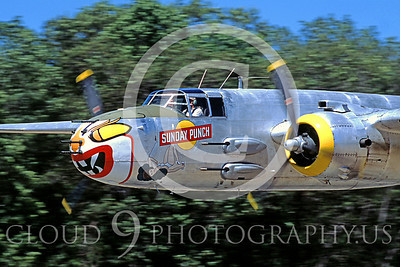 WB - North American B-25 Mitchell 00058 North American B-25 Mitchell Sunday Punch by Peter J Mancus
