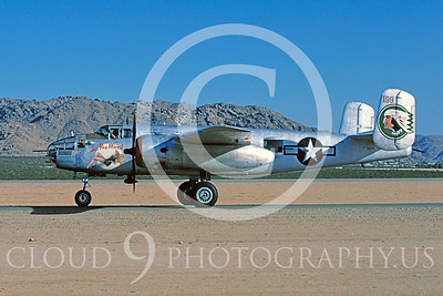 WB - North American B-25 Mitchell 00099 North American B-25 Mitchell In The Mood by Peter J Mancus