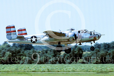 WB - North American B-25 Mitchell 00100 North American B-25 Mitchell Panchito by Peter J Mancus