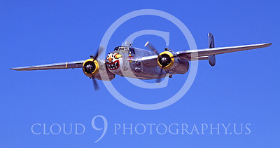 WSP-MA 00100 North American B-25 Mitchell Sunday Punch by Peter J Mancus