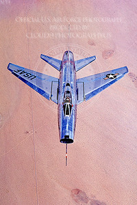 F-100USAF 00002 North American F-100A Super Sabre USAF Official USAF photograph produced by Cloud 9 Photography