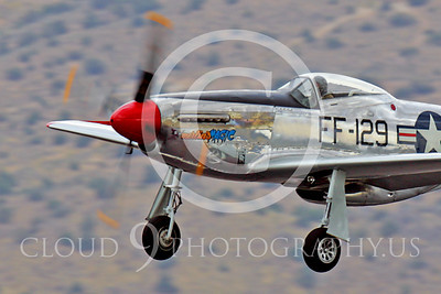 Race Airplane North American P-51 Mustang Merlin's Magic N1515E 00010 Air racing plane North American P-51 Mustang Merlin's Magic N1515E at Reno air races by Peter J Mancus