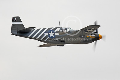 WB - North American P-51 Mustang 00112 North American P-51 Mustang warbird fighter, by Peter J Mancus