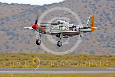 Race Airplane North American P-51 Mustang Merlin's Magic N1515E 00002 Air racing plane North American P-51 Mustang Merlin's Magic N1515E at Reno air races by Peter J Mancus